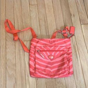Coach purse -crossbody coral- potential